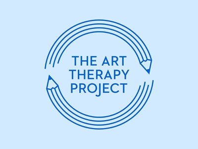 The Art Therapy Project therapy art improvement continuous brand logo