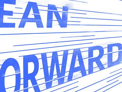 Lean Forward forward lean speed type