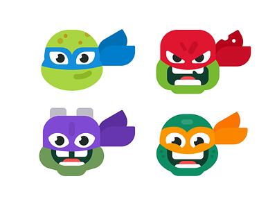 Rise of the TMNT character illustration raphael leonardo character design teenage mutant ninja turtles