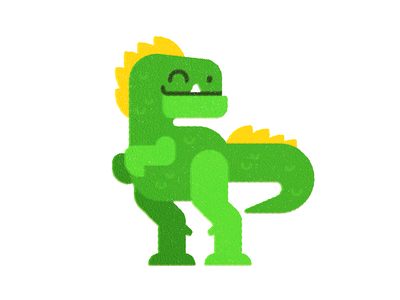 Dino  (1 of 4) illustration animal texture print childrens art dinosaur flatillustration