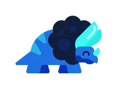 Dino  (4 of 4) animal texture print childrens art dinosaur flat illustration