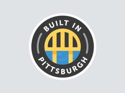 Built in the Burgh badge