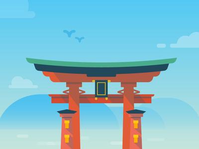 Duolingo Japanese Monument