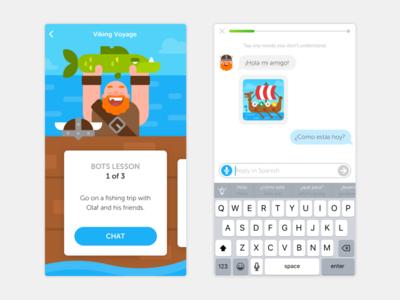 Duolingo Bots Lesson (Viking)