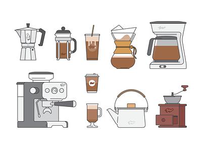 Coffee time coffee cup coffee maker coffee lover coffee design logo vector branding illustration icon minimal