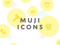 Muji Icon Set