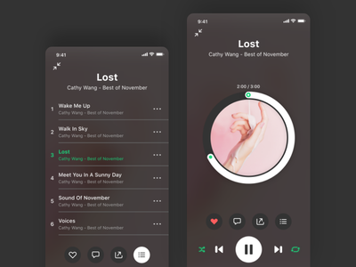 vox Player play list ring player ios mobile vox