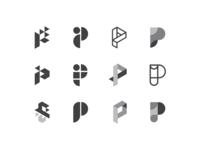 P - logo design