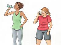 Gym Day Diary Comic