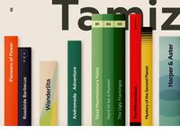 Interactive Book Shelf 📕
