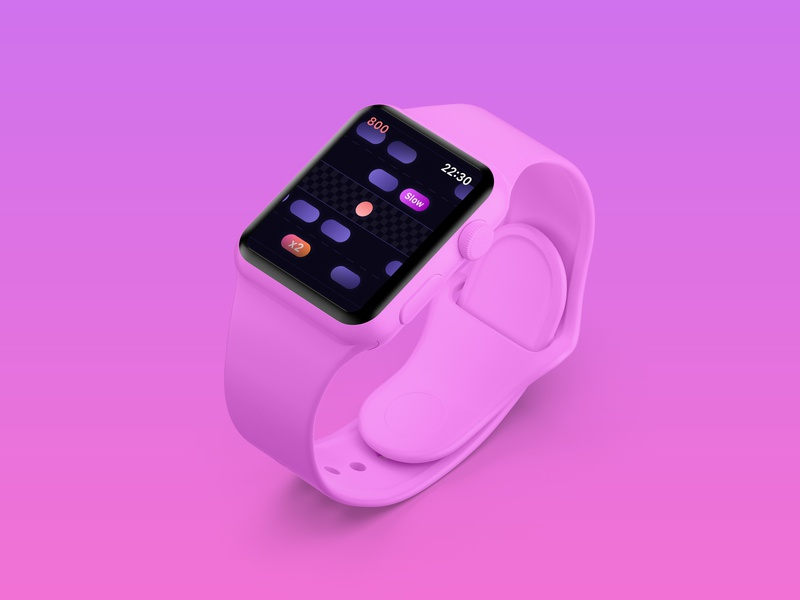 Avoid – Apple Watch Game game watchos apple watch branding ios apple app ui design