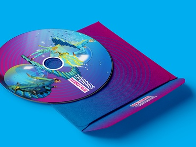 Chvrches _ Clearest Blue CD cover