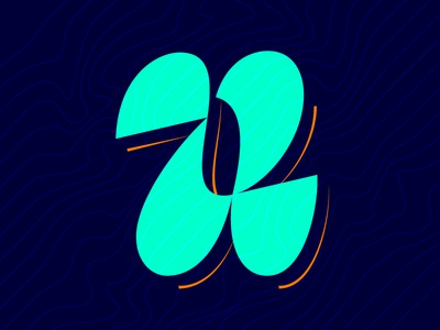 21. U vector lettering contrast 36daysoftype05 36daysoftype 36days-u 36days