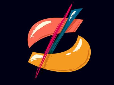 26. Z vector lettering contrast 36days-z 36daysoftype05 36daysoftype 36days