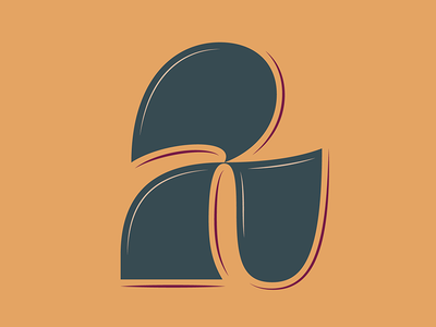 29. 2 vector lettering contrast 36days-2 36daysoftype05 36daysoftype 36days