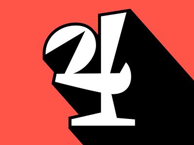 31. 4 3d vector lettering serif contrast 36daysoftype05 36daysoftype 36days-4 36days