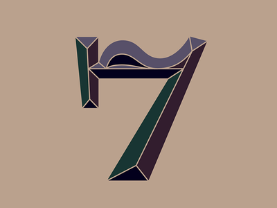 34. 7 vector lettering 36daysoftype 36days-7