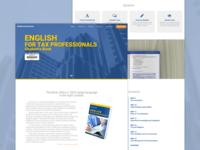 TaxProEnglish Landing Page