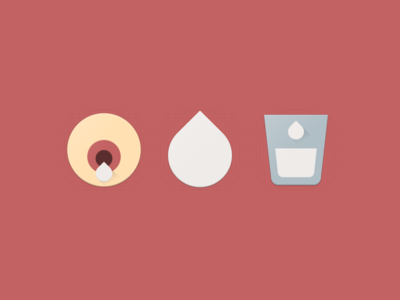 Breasfeeding Icon Set