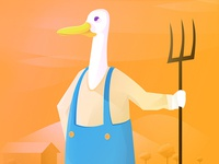 Mr. Mallard farmer