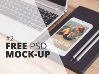 Free PSD Mock-Up: iPhone 6 Plus