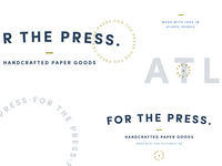 For The Press Branding Elements