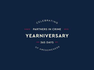 Yearniversary Badge