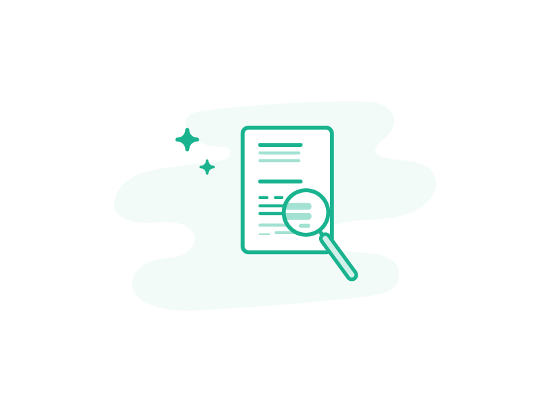 Analyze  vector spot illustrations site monochromatic illustration green