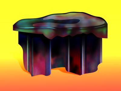 Universal Table oddmatterstudio design illustration art