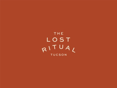 Primary Mark for The Lost Ritual beer logotype typography logo designer food and beverage food drink cocktail bar bar restaurant branding design branding and identity identity logo design logo