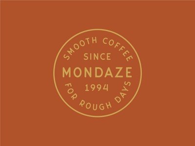 Mondaze Coffee branding vector coffee branding branding and identity logo cafe coffeeshop coffee restaurant food and beverage identity print typography