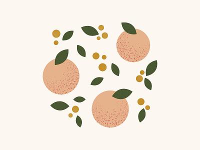 Peaches branding food fruit vector illustration