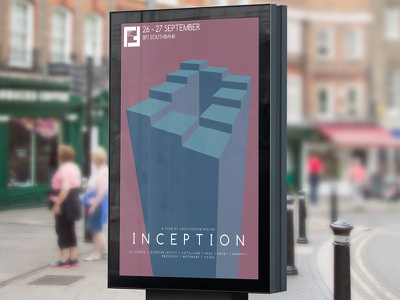Inception Film Poster concept inception poster film