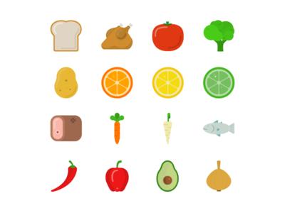 Ingredient Icons