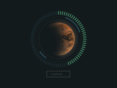 Planet Scan UI