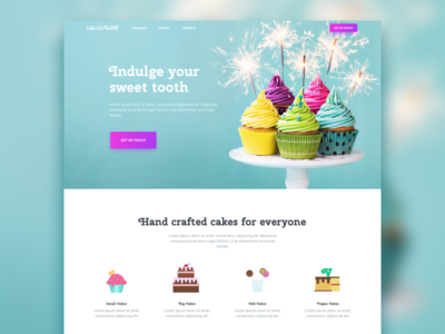 Cakes On The Hill Homepage