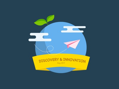 Discovery & Innovation Logo for Company Event