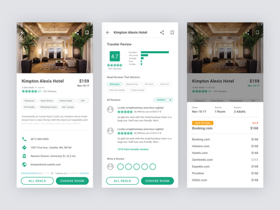 TripAdvisor Redesign Concept - Part 4 reservation booking app booking review deal hotel booking hotel ui uiux trip travel app travel ios design business app mobile