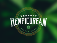 Vermont Hempicurean // Logo & Site Design