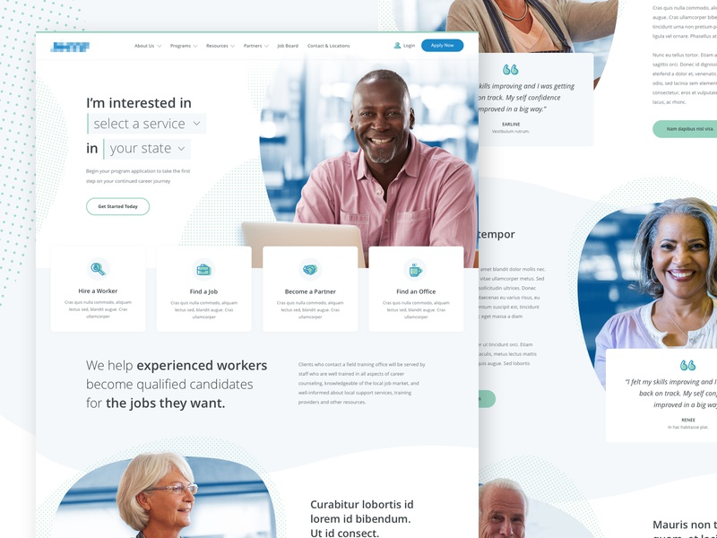 Placement Agency | Landing Page