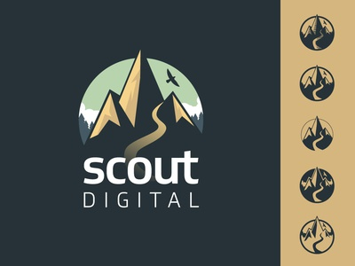 Scout Logo Concept vector design burlington logo design process logo design concept illustration logo design logo