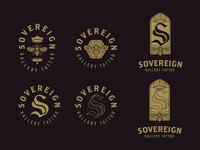 Sovereign Gallery Logo Concept