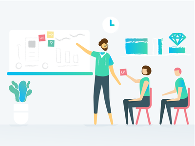 Withings Design Fam <3 health mate fresh colors connected devices brainstorm designers icon ui branding vector health app cute withings ux fun design illustration