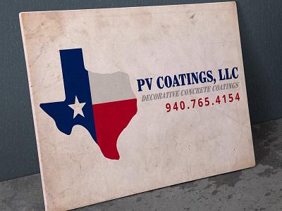 PV Coatings logo logo design logo