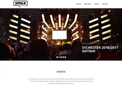 Website - Smile Reprezent Agency