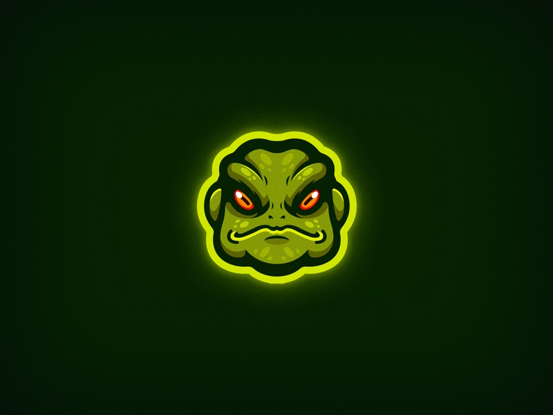 Toad Logo logotype logo vector minimal mascot logo mascot mascotlogo animal video games games gaming frogger frog frog logo toad