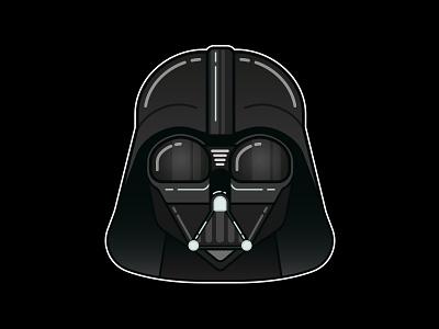 Darth Vader star wars darth vader empire evil palpatine vader minimal vector sith geek nerd darth
