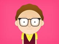Glasses Morty