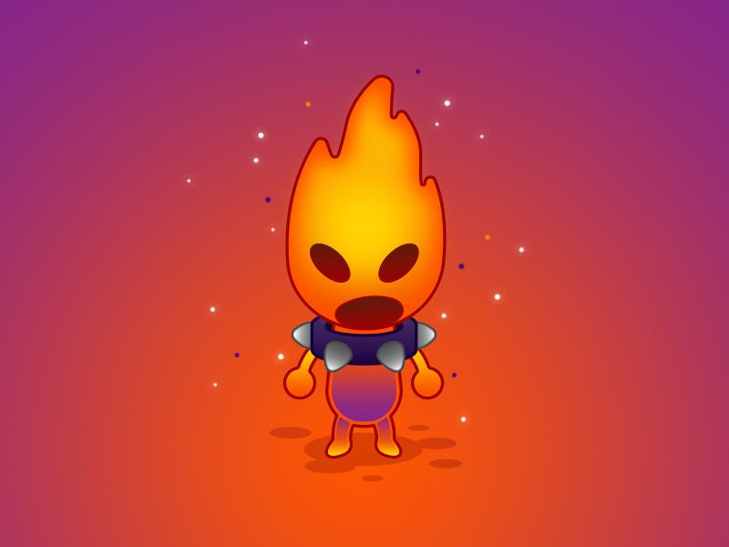 Fire Higgledy studioghibli ghibli ninokuni elements elemental higgledy fire water wind earth