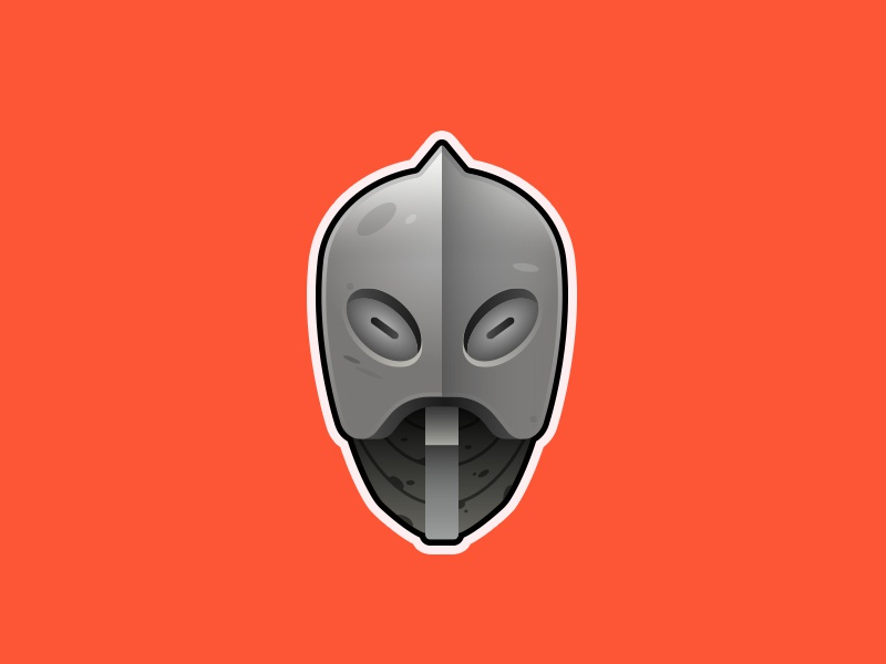 Giant's Mask mask design illustration zelda majoras mask minimal gaming nintendo vector